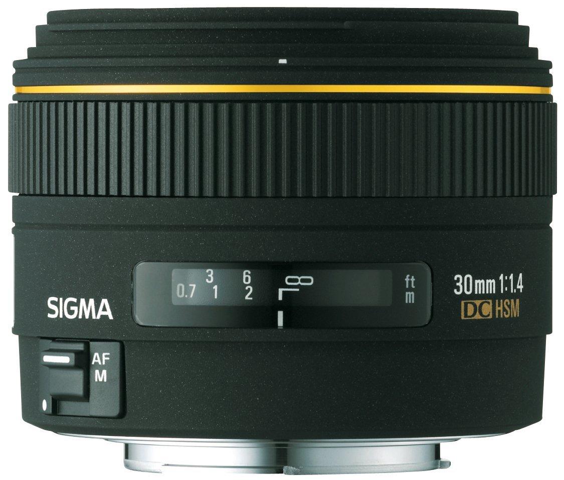 Sigma シグマ 30mm f/1.4 EX DC HSM レンズ キヤノン デジタル SLR カメラ ミノルタ ソニー デジタル SLR カメラ【並行輸入品】+NONOKUROオリジナルグッズ  Minolta and Sony Digital SLR Cameras B00LQU0SQO