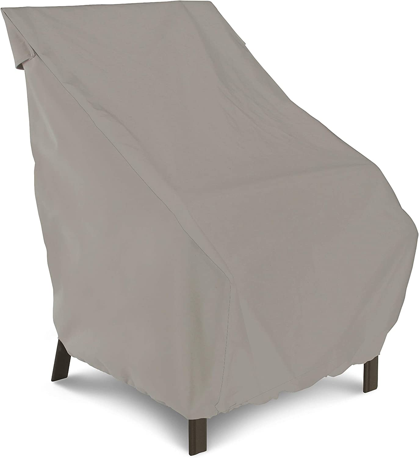 AmazonBasics Patio Highback Chair Cover, Grey