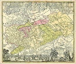 Karte Thüringen.Historische Karte Burgen Ritter Und Klosterkarte Thüringen Und