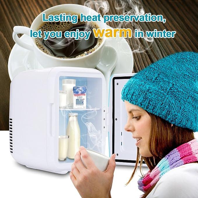 valoxin (TM) 4L de coche Mini nevera 12 V congelador enfriador ...