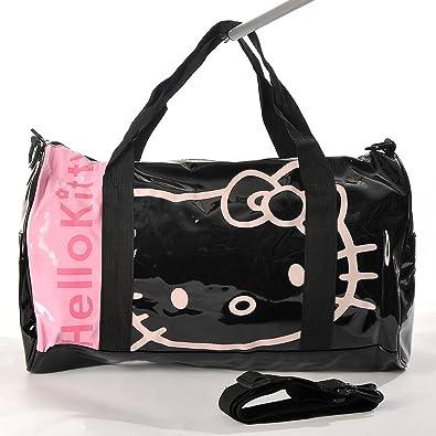 Noir et rose à carreaux Hello Kitty Sac fourre-tout UuqyKAX
