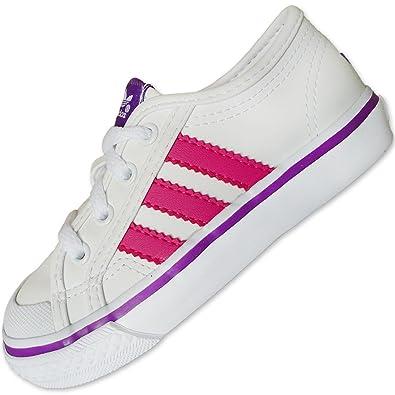 Adidas Originals Nizza Baby Sneakers, Weiß, Größe 19: Amazon