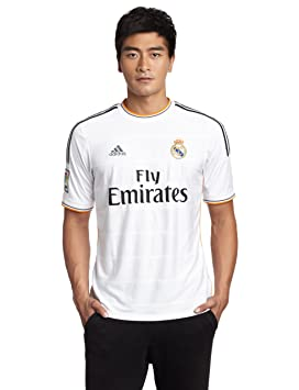 Real Madrid C.F. Adidas Camiseta de fútbol, 2013-14, Local, XXL