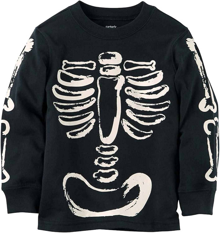 Carters Boys Long-Sleeve Halloween Graphic Tee