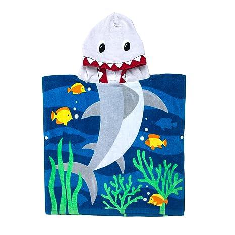 TeddyTs Personalised Dinosaur Hooded Poncho UV Protection Towel
