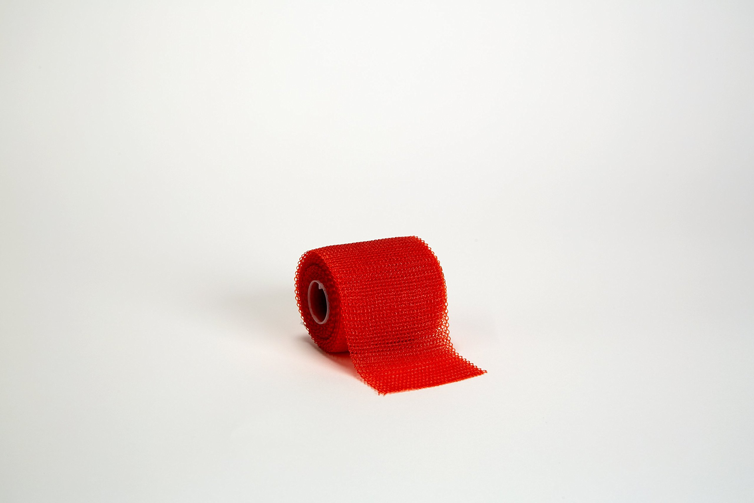 3M Scotchcast 82002R Plus Casting Tape, Red 2'' x 4 Yard (Pack of 10)