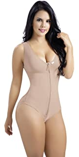 Aranza Faja Colombiana Reductora Modeladora Bodysuit with Bra Shapewear Girdle Melibelt 1023