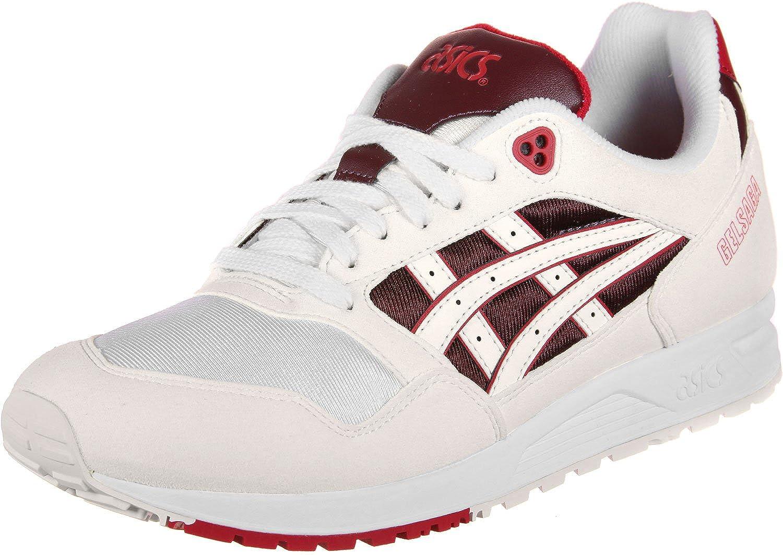 Asics Tiger Gel Weiß Saga Schuhe Weiß Gel Sambas 368134
