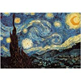 TOYANDONA Starry Night Jigsaw 1000 Pieces Van Gogh Jigsaw Puzzle 1000 Piece Jigsaw Puzzles Hard Puzzles for Adults