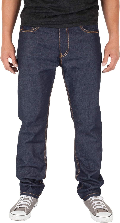M527SV-B1D7 Men/'s Made in USA Straight Fit  Denim Premium Selvedge Jeans Pants