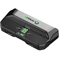 Titan Two Device [Programmable Scripts, Macros, Mods, Remapping, Keyboard, Mouse] Advanced Crossover Gaming Adapter and…