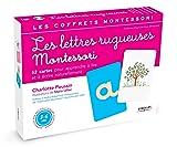 Les lettres rugueuses : Coffret Pour apprendre à lire et à écrire naturellement - pédagogie Montessori