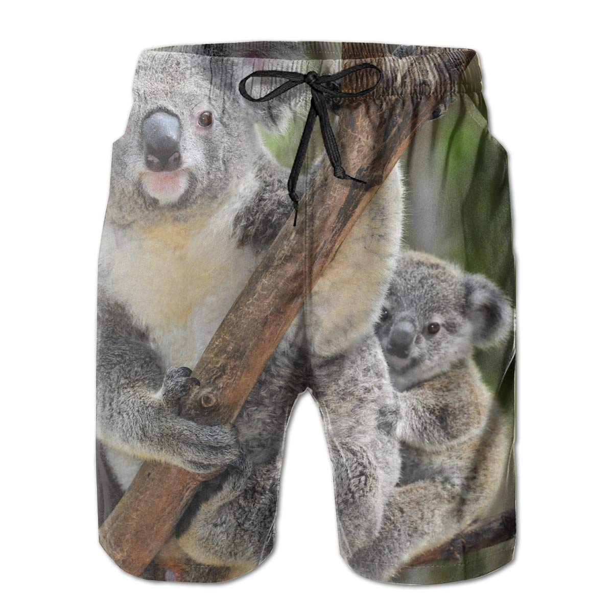 Koala Men/â/€s Beach Board Shorts Quick Dry Swim Truck Shorts