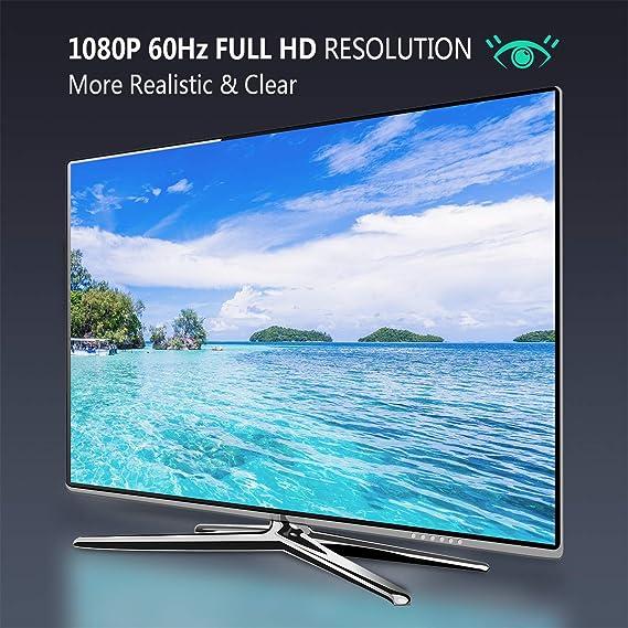 BENFEI Adaptador HDMI a VGA 1080P Convertidor de Vídeo para PC, TV, Ordenadores Portátiles y Otros Dispositivos HDMI: Amazon.es: Electrónica