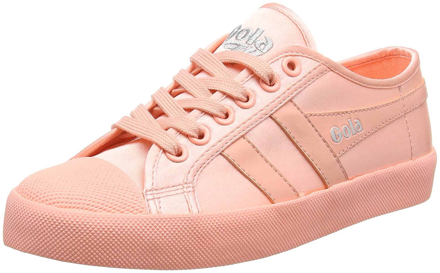 Gola 19985 Coaster Satin Neon Coral, Baskets Femme Rose (Neon Femme Neon Coral Blue) d943206 - fast-weightloss-diet.space