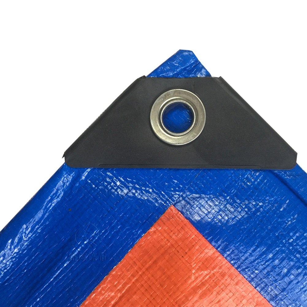 LQQGXL Starke Plane, LKW-Schutz LKW-Schutz LKW-Schutz Regenschutzplane Isolierung Hochtemperatur Anti-Aging, blau  Orange Wasserdichte Plane B07H9VD5LF Zeltplanen Wirtschaft bfd2aa