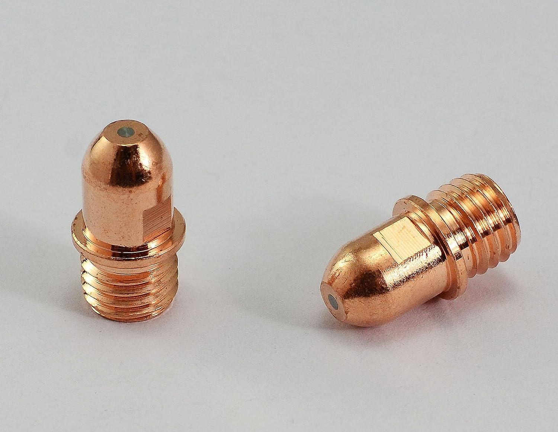 C1376 Plasma Elektroden f/ür Cebora CP 160 HP100 Trafimet PR0034 /& CB100 CB150 10pk