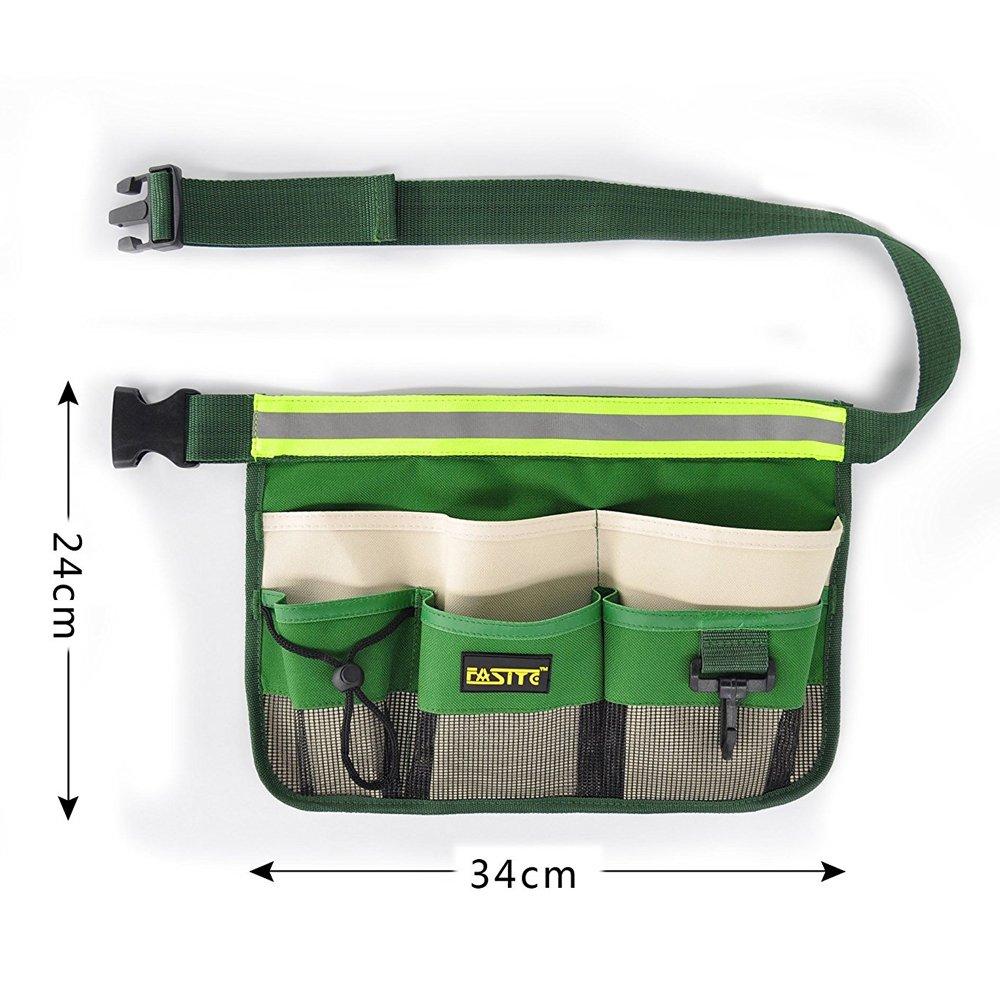 FASITE 7 F/ächern Taschen Werkzeugtasche H/üfttasche Lagerung Beutel Pack f/ür Wartungstechniker Tragetaschen Schwarz