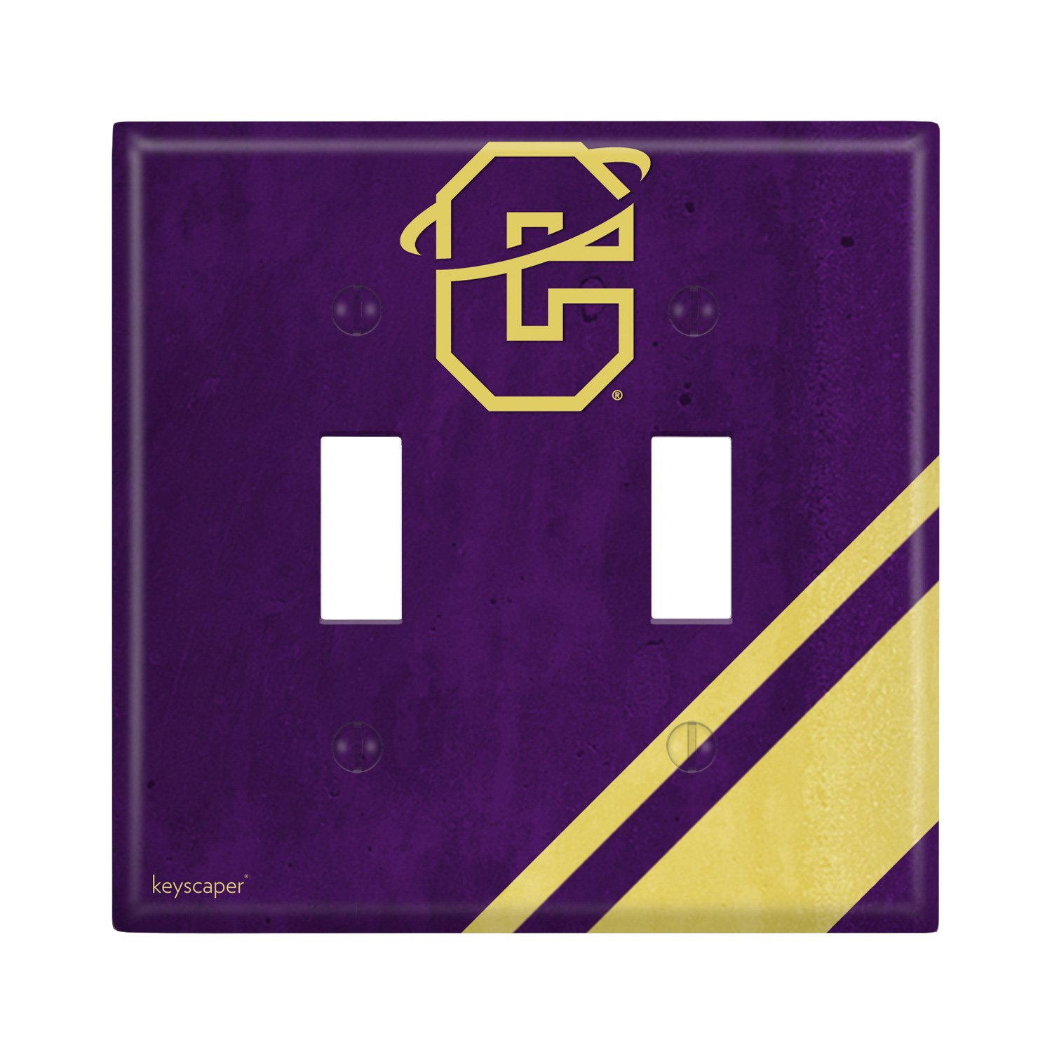 Carroll College Double Toggle Light Switch Cover NCAA