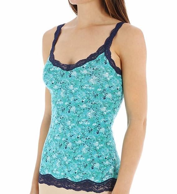 4cfc6e2bb0 DKNY Womens Downtown Cotton Pajama Tank Blue Small at Amazon Women s ...