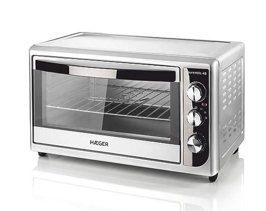 Haeger - Laurentis - horno de 2000w con grill, capacidad de 48 l ...