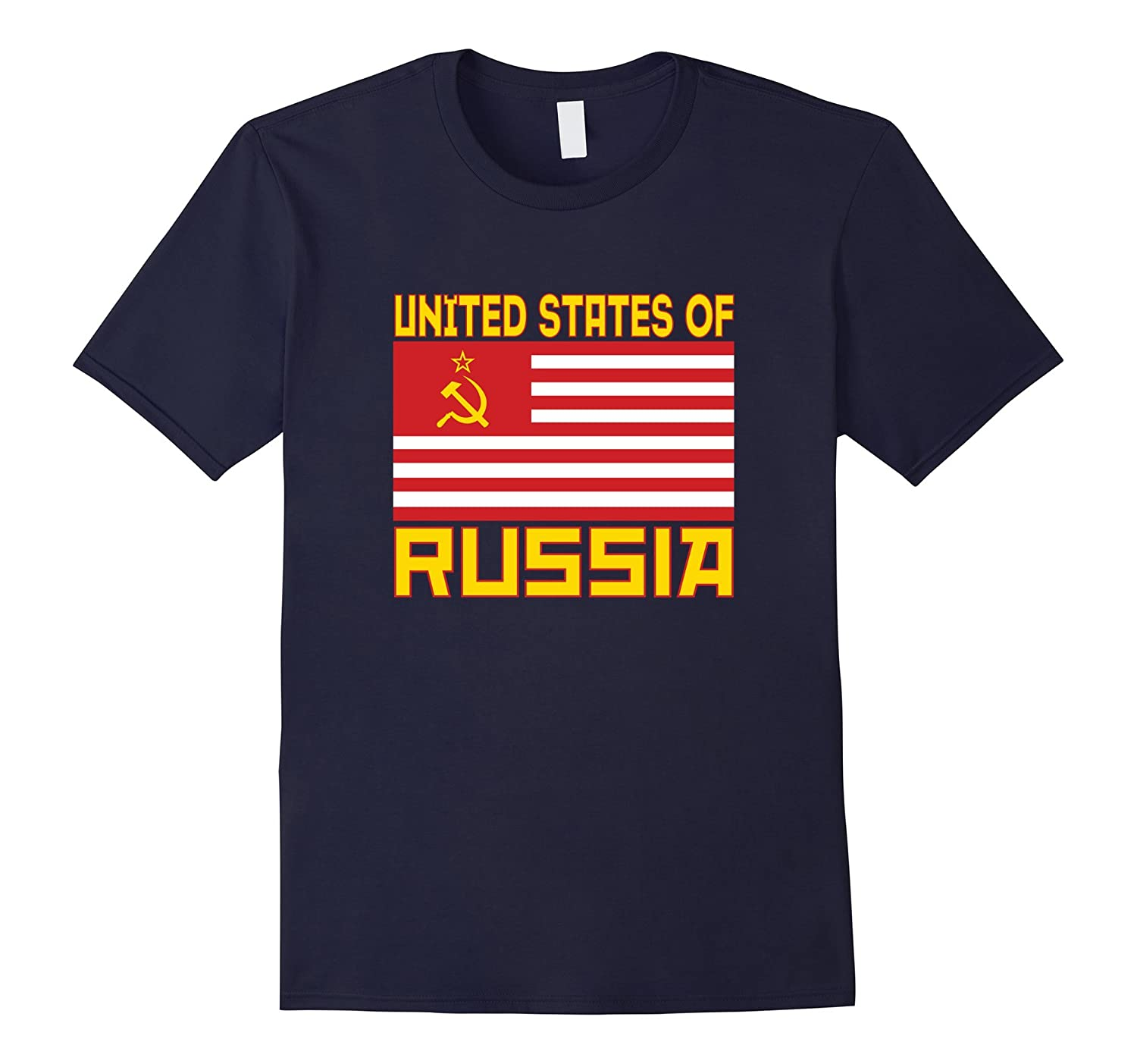 United States of Russia Anti-Trump Political T-Shirt-BN