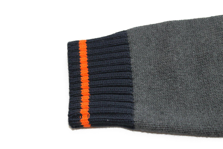 Bienzoe Big Boy's School Uniforms Cotton Antistatic V-neck Cardigan Sweater 14 by Bienzoe (Image #4)