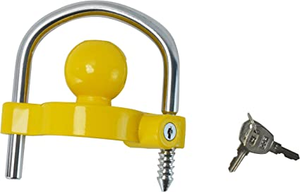 Trailer Anti-Theft Device Universal Coupler Security Lock For Ball Hitch Mounts
