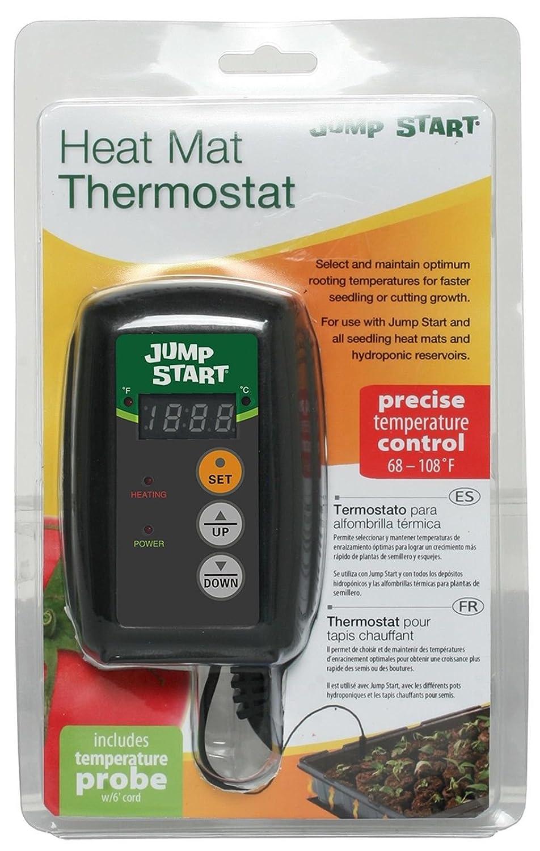 Amazon.com : 45W Seedling Heat Mat + Hydrofarm MTPRTC Temp Controller & JSV2 Lighting System : Garden & Outdoor