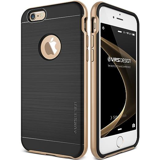23 opinioni per Cover iPhone 6/6S, VRS Design® Custodia [Oro] Ultra-Sottili Antiurto Doppia