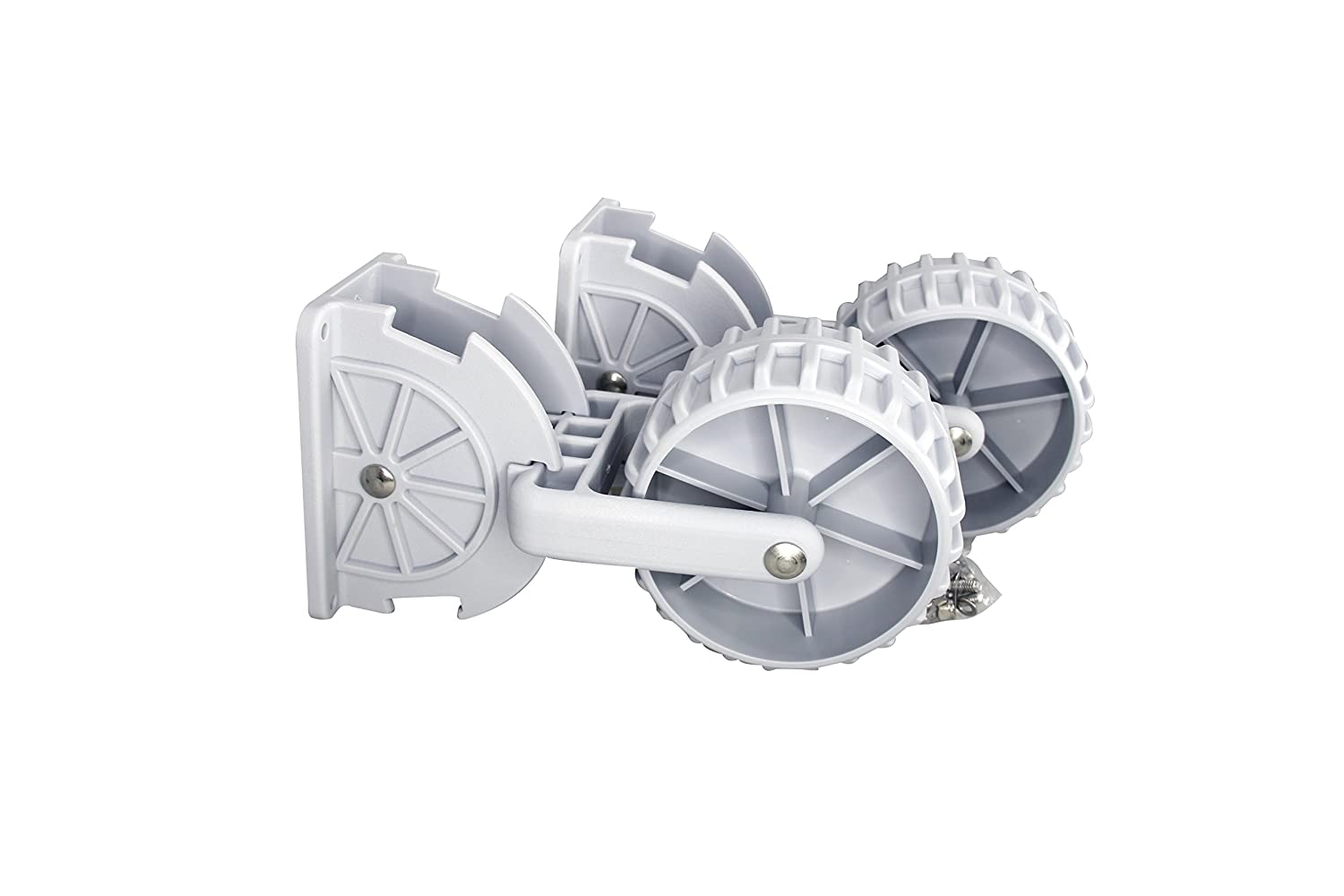 Pactrade Marine Flip-up Retrackable Dinghy Wheels Launch Inflatable Boat Dolly