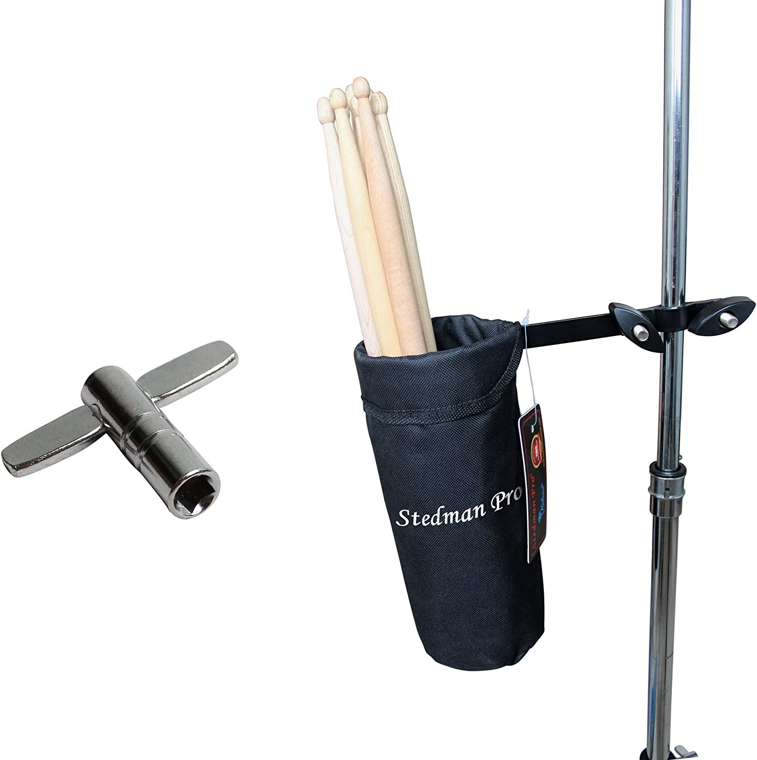 Vizcaya Drum Stick Holder Drum Stick Bag with Drum Key