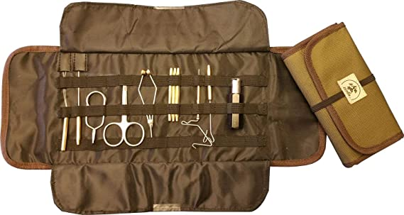 Anglerhaus Fly Tying Tool Kit with Pouch