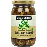 Urban Platter All Natural and Sliced Jalapenos, 400g