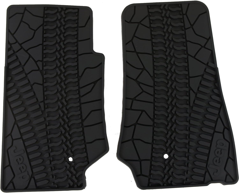 Genuine Jeep Accessories 82210164AC Slate Gray Winter Floor Mat