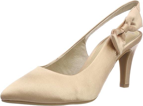 TALLA 40 EU. ser 29600, Zapatos de Talón Abierto para Mujer