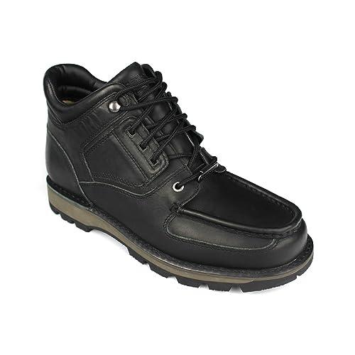 5970d1bcf4b12f Rockport Mens Treeline Trek Umbwe Trail Lace-Up Boots (7 UK) (BLACK ...