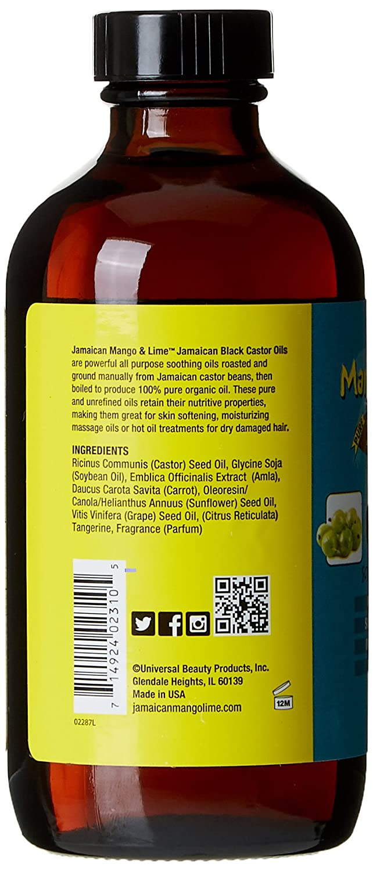 Jamaican Mango & Lima Aceite de Ricino/Amla 100% natural 236 ml - juego de 4: Amazon.es: Belleza