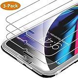 """Syncwire [3-Pezzi] Pellicola Vetro Temperato iPhone 8/7 / 6s / 6 HD 9H Durezza, Vetro Temprato Protettiva per 4.7"""" Apple iPhone 8/7 / 6s / 6[Infrangibile, Senza Bolle, Adattabile alla Custodia]"""