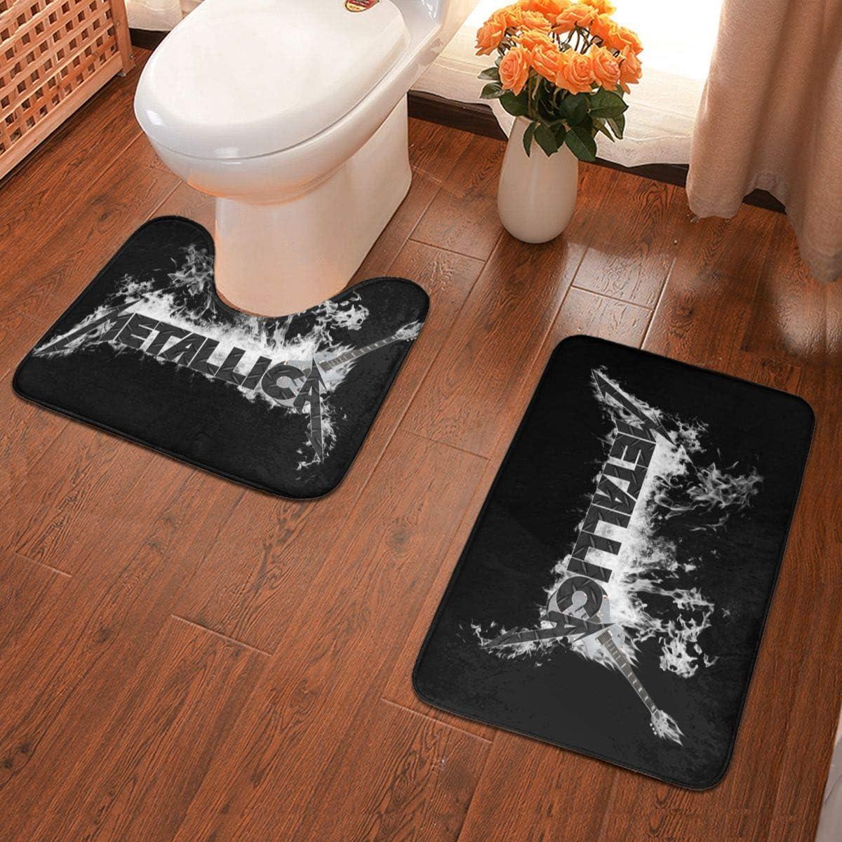 NA Bathroom Antiskid Pad Metallica Durable Water Absorption and Anti Skid Bathroom Antiskid Pad Two-Piece