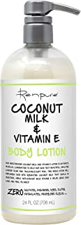 product image for RENPURE Originals Coconut Milk & Vitamin E Body Lotion, 24 Ounce