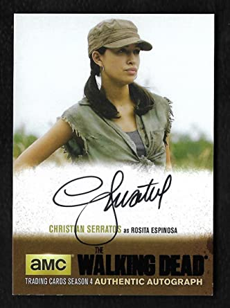 The Walking Dead Season 4 Part 2 Black Foil Autograph Cs1
