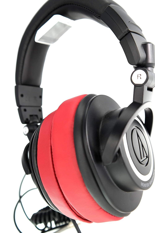 Blanco ATH Fostex HifiMan Brainwavz Reemplazo Espuma de Memoria Almohadillas Para Grande Sobre El O/ído Auriculares Para AKG Philips