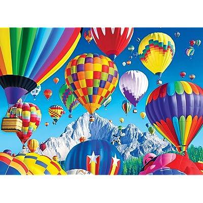 Kodak 1000 Piece- Balloons Over a Mountain: Toys & Games