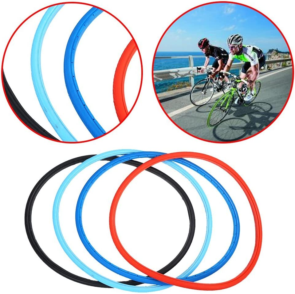 Bike Solid Tire 700x23C Road Bike Bicycle Cycling Riding Tubeless Tyre