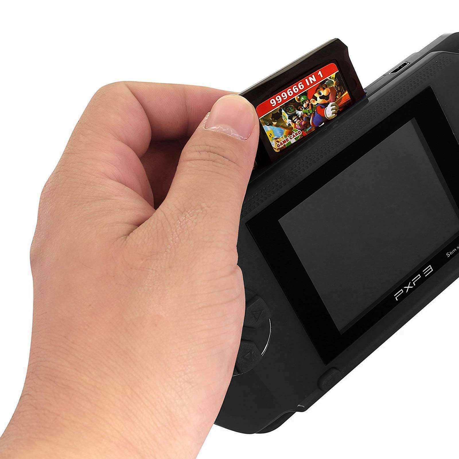 Ocamo Retro Game Console, AV Output PXP3 Portable Handheld Console Built-in Video Game Gaming Console Player Black by Ocamo (Image #3)