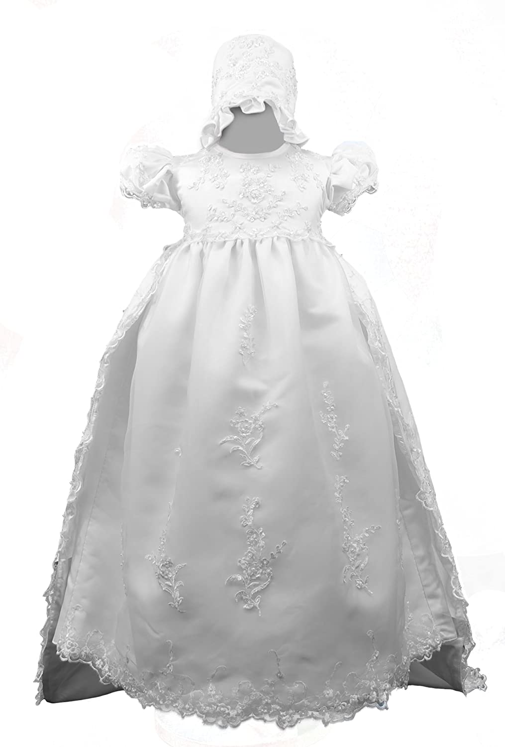 New Infant Girl /& Toddler Christening Baptism Formal Dress size New Born to 30 M