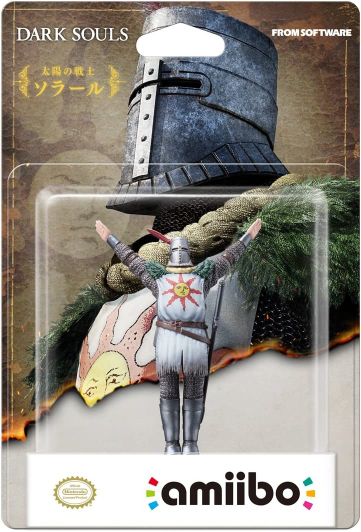 Amiibo - Character Pack Solaire Of Astora Dark Souls Collection ...
