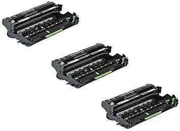 3X Unidad de Tambor Compatible con Brother DR3400 DCP-L5500DN L6600DW HL-L5000D L5100DN L5100DNT L5200DW L6250DN L6300DW L6300DWT L6400DW L6400DWT ...