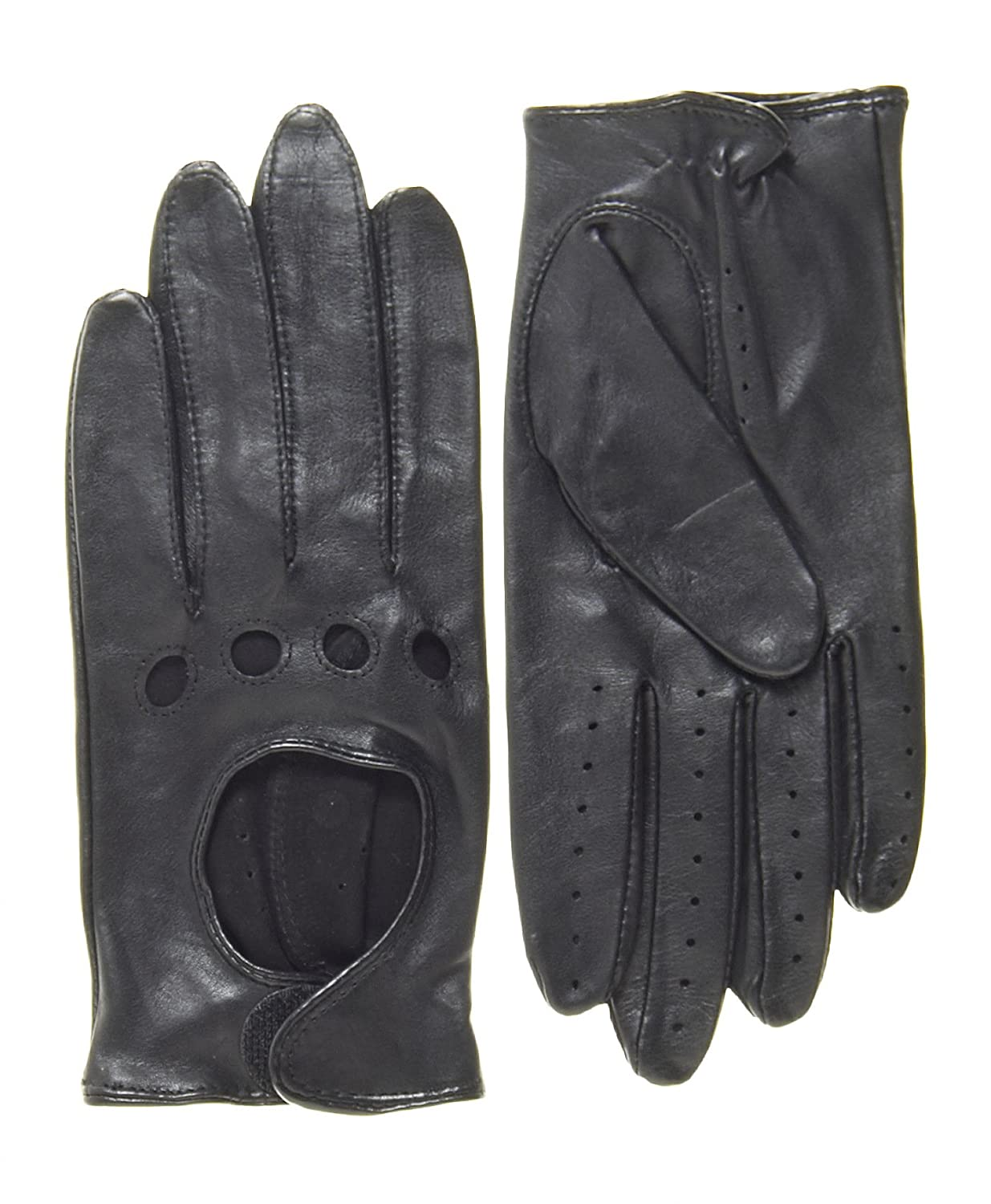 Black leather gloves meaning - Pratt And Hart Women S Womens Leather Driving Gloves Size S Color Black At Amazon Women S Clothing Store Cold Weather Gloves